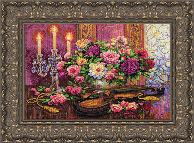 needle point cross stitch custom framing