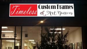timeless custom frames and art gallery