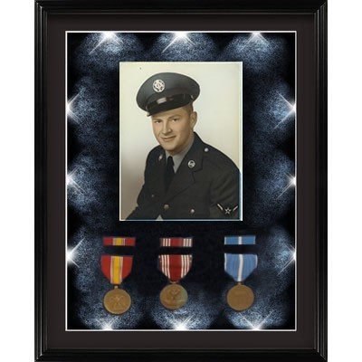 flag frames for casket flags all branches of military fire fighters police and ems - Military Picture Frames