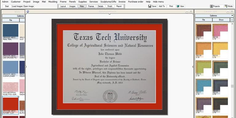Diploma Frames $69 Include UV Glass & Preservation Mat & Frame ...